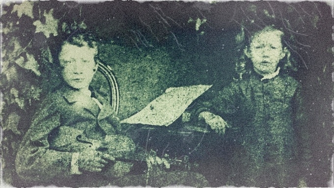 Básník Antonín Sova a jeho sestra Marie