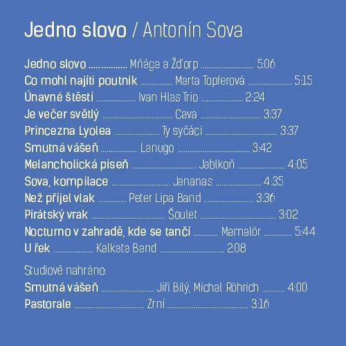Jedno slovo – album zhudebněné poezie Antonína Sovy